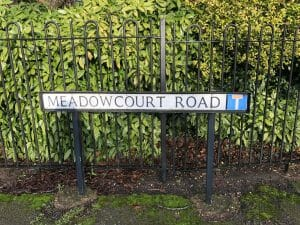 No. 14 - Top 20 Streets in Oadby - Meadowcourt Road