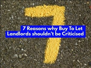 7 Reasons Why Leicester Buy To Let Landlords Shouldn't Be Criticised